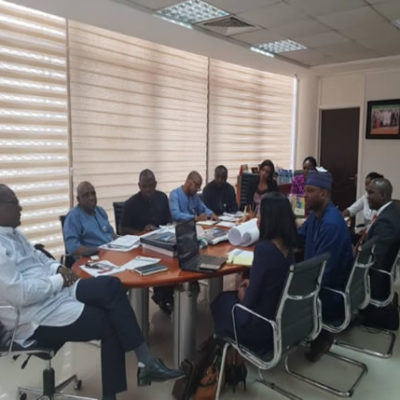 MEETING WITH ES & TEAM AT NCDMB TO KICK START MANUFACTURING PROJECT (JV)