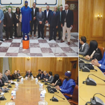 VISIT TO EGYPT TO SEE MINISTRY OF ARMED PRODUCTION – CYLINDER ASSEMBLY PROJECT